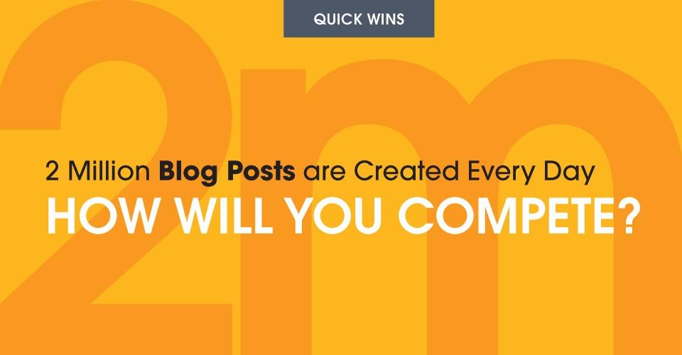 Quick Wins Blog Post